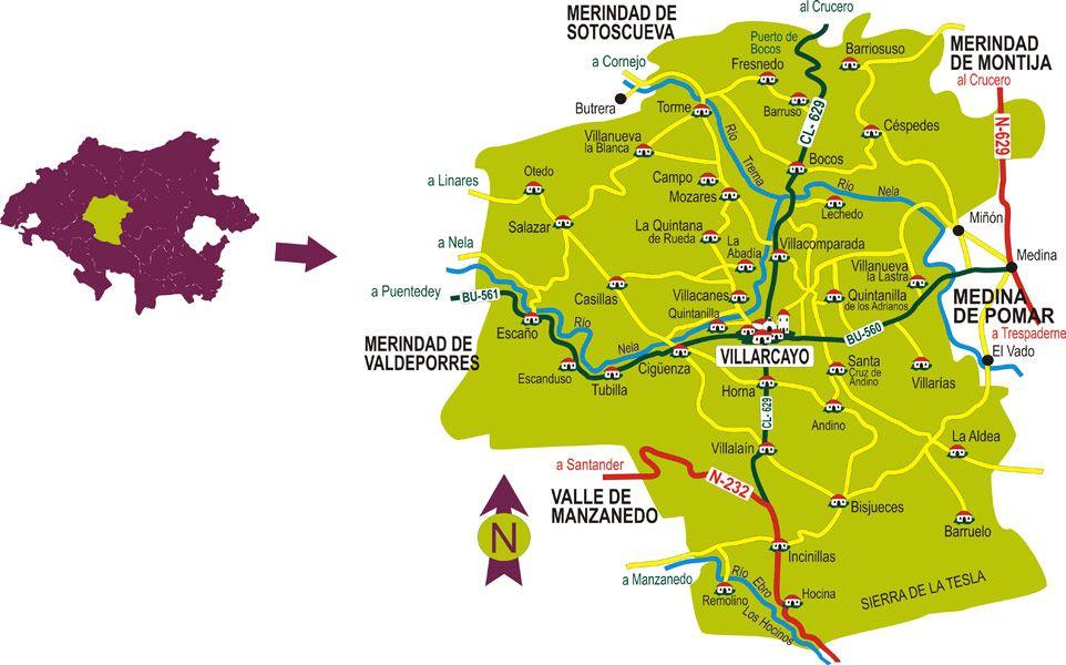 Las Merindades - Villarcayo de Merindad de Castilla la Vieja