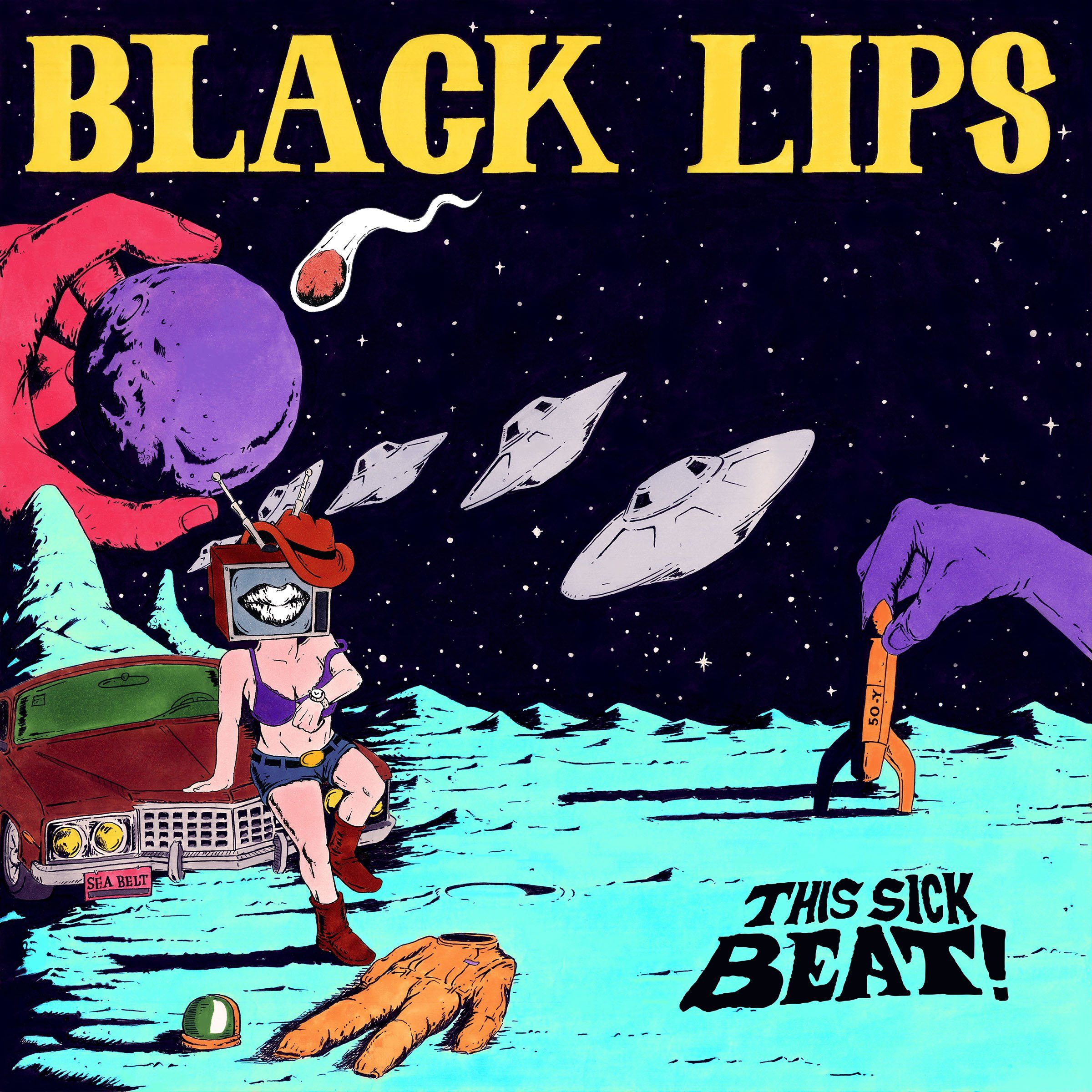 Black Lips This Sick Beat Colored Vinyl Vinyl 10 Record Store Day Black Lips Music Album Cover Record Store