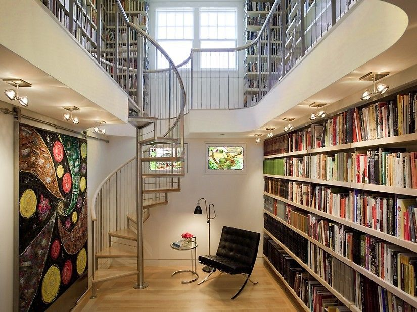 Dream homes for the book lover These