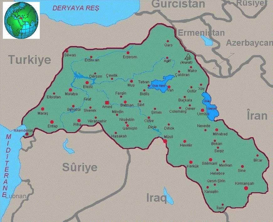 kurdistan karta Iraqi Kurdistan first gained autonomous status in a 1970 agreement  kurdistan karta