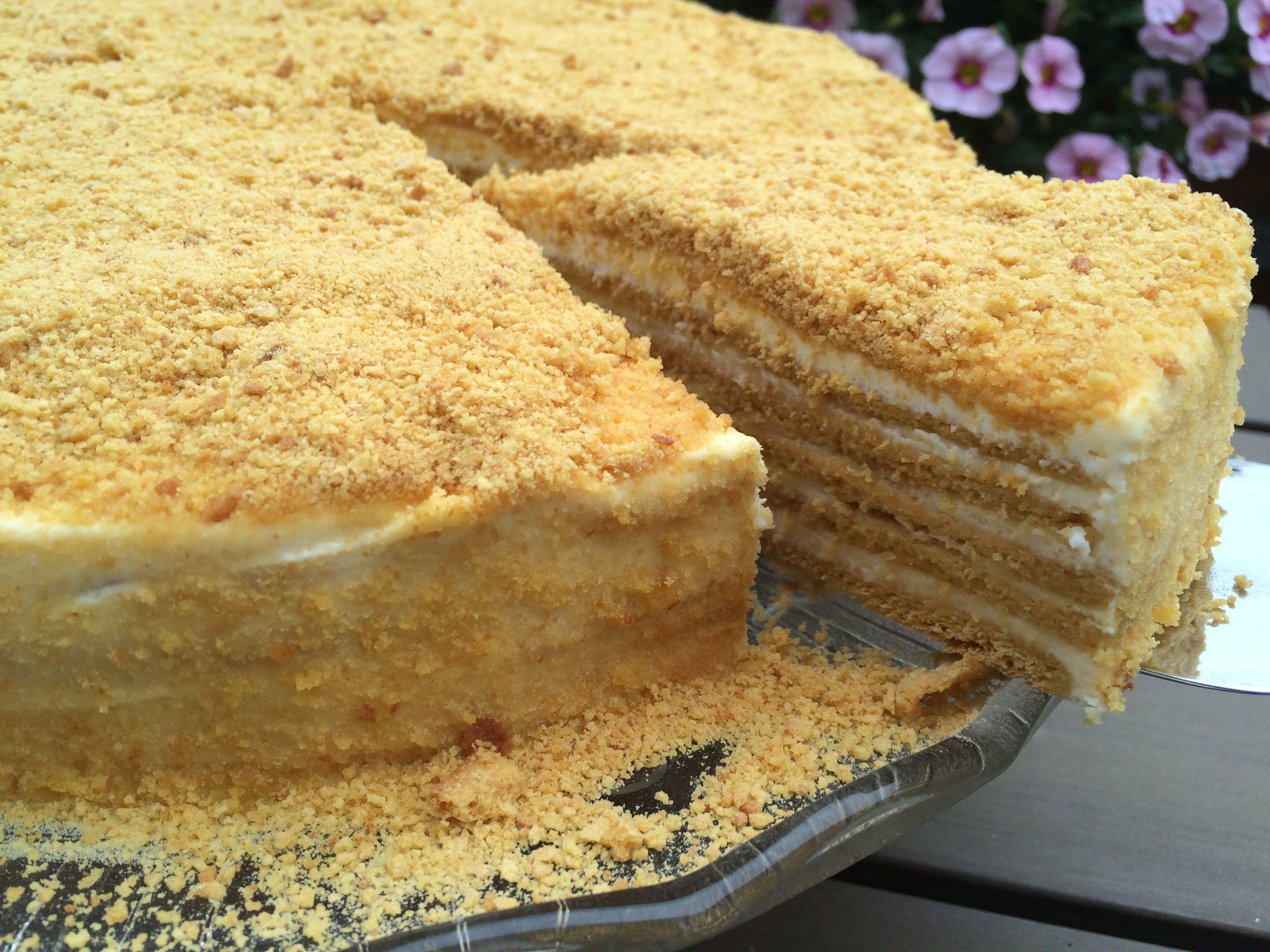 Heute Backe Ich Eine Honigtorte Mmmhhh Lecker Kuchen Und Torten Susses Backen Kuchen Ohne Backen