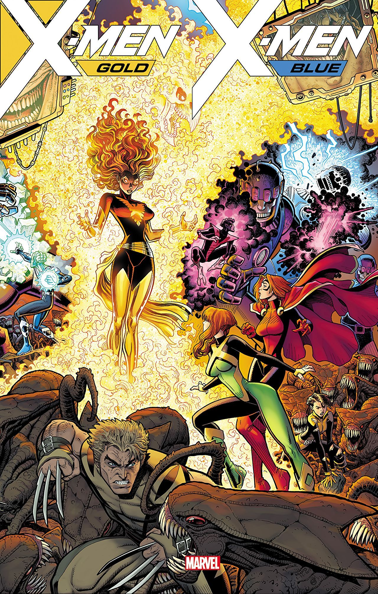 X Men Gold Vol 3 Mojo Worldwide W B Comics Marvel Comics Art X Men