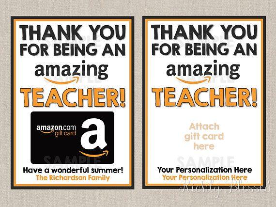 Amazon Inspired Teacher Appreciation Week Gift Teacher Thank You