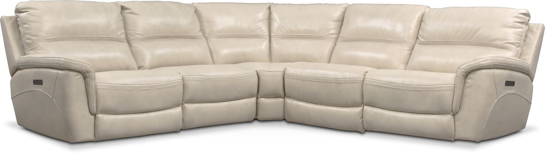 Best Avanti 5 Piece Triple Power Reclining Sectional Sofa With 400 x 300