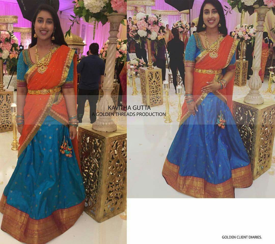 Buy How to langa wear voni sarees pictures trends