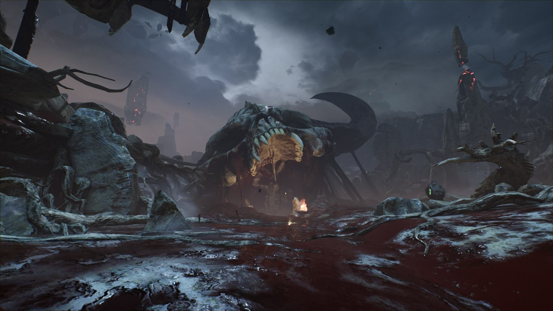 titan's realm DOOM (2016) 1920x1080 Doom 2016, Doom