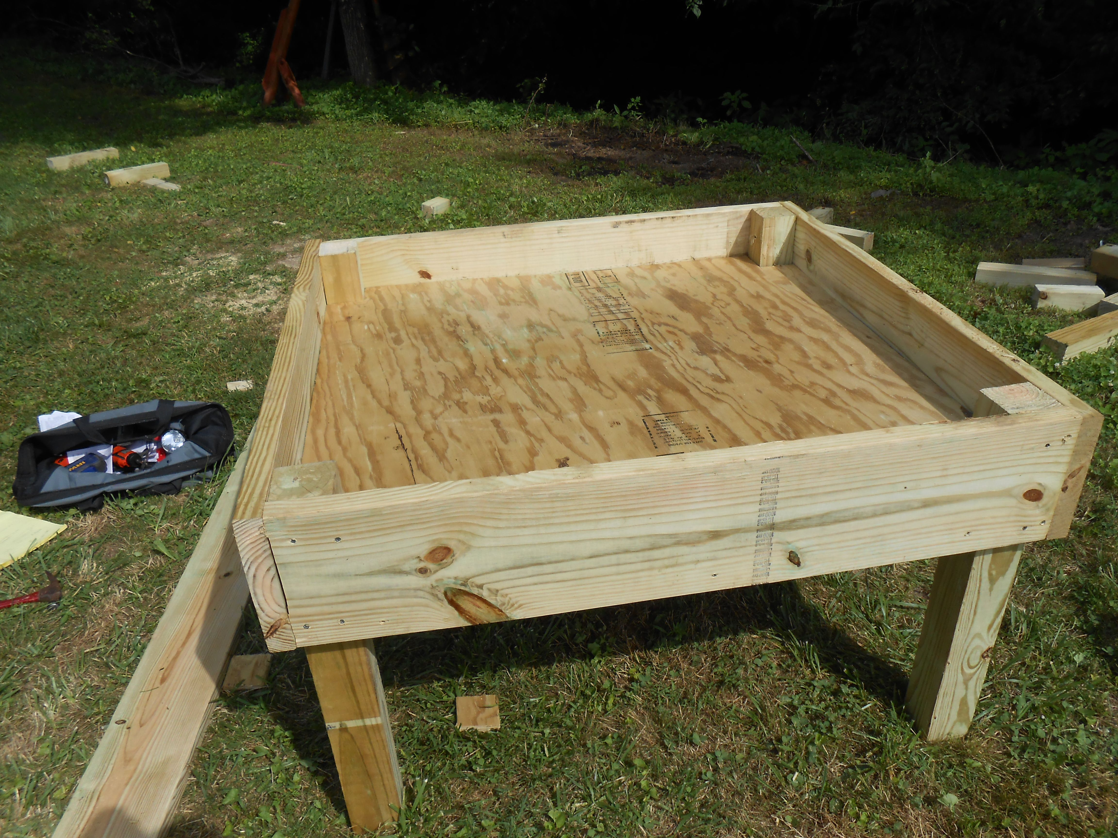 Standing Sandbox