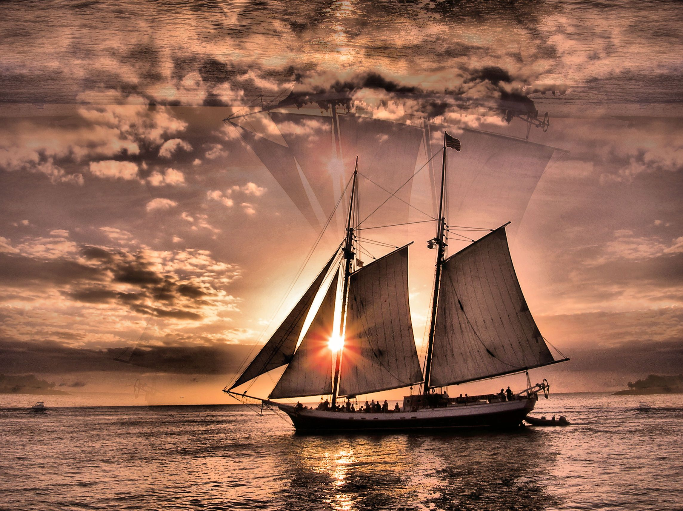 The Ship Has Come To Carry You Home Sailing Sailing Ships Boat Moon boat sunset sail evening lake