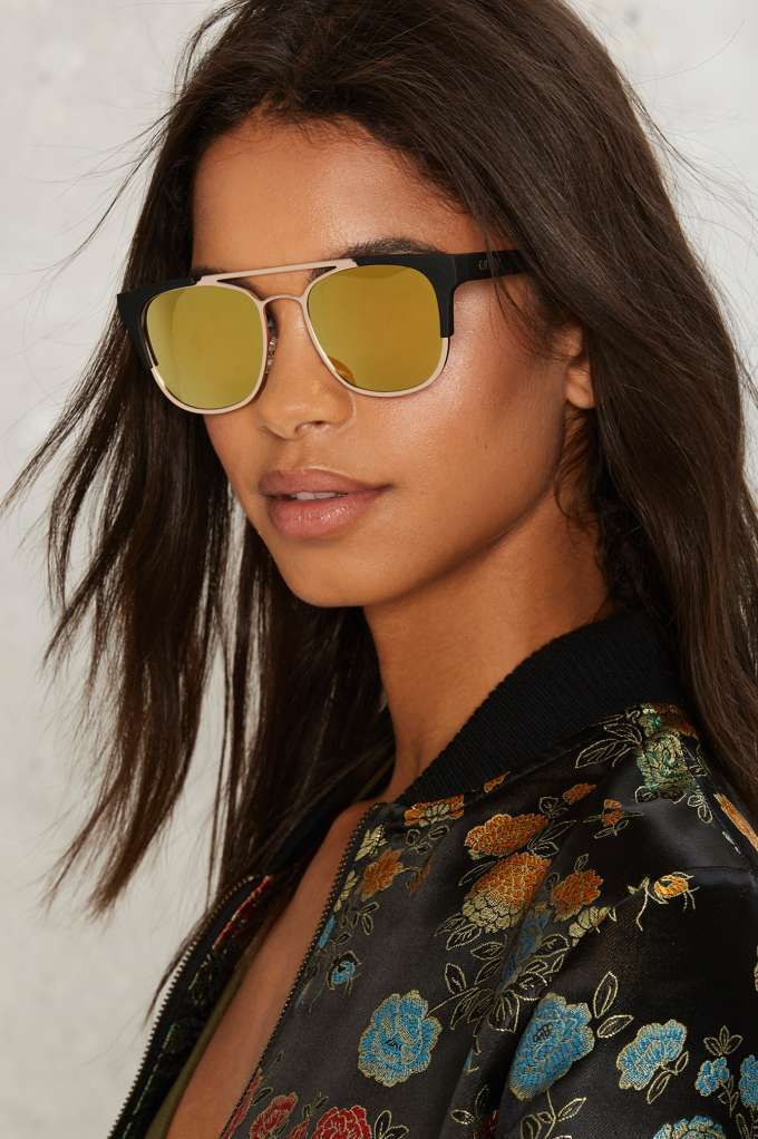 cd7fc6c00f0 Quay High and Dry Mirrored Shades - Accessories