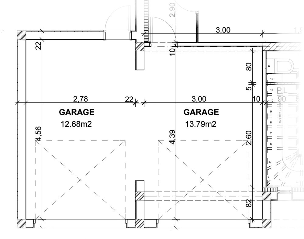Maison Jumelee Plain Pied Plan De Garage Gratuit Home Design For