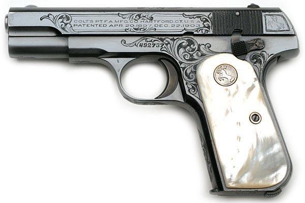 Colt 1903 Pocket Hammerless self-loading pistol