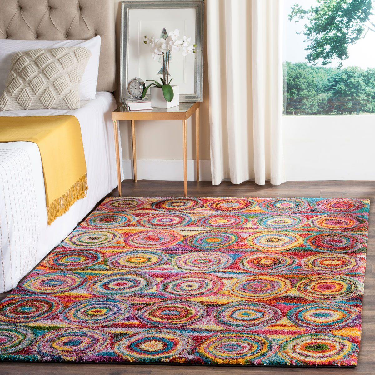 Shag Collection FSG359M Color: Multi  #rug #carpet #safavieh #safaviehrug  #trendy #homedecor #homeaccents #shophome #livingroom #diningroom #bedroom #kitchen #office #rugsforyourhome #shag #shagrug #shagcarpet #softshagrugs #shagrugdesign #stunningshagrugs #safaviehshag #safaviehshagrugs #trendyrugs #bestrugs #bestrugprices