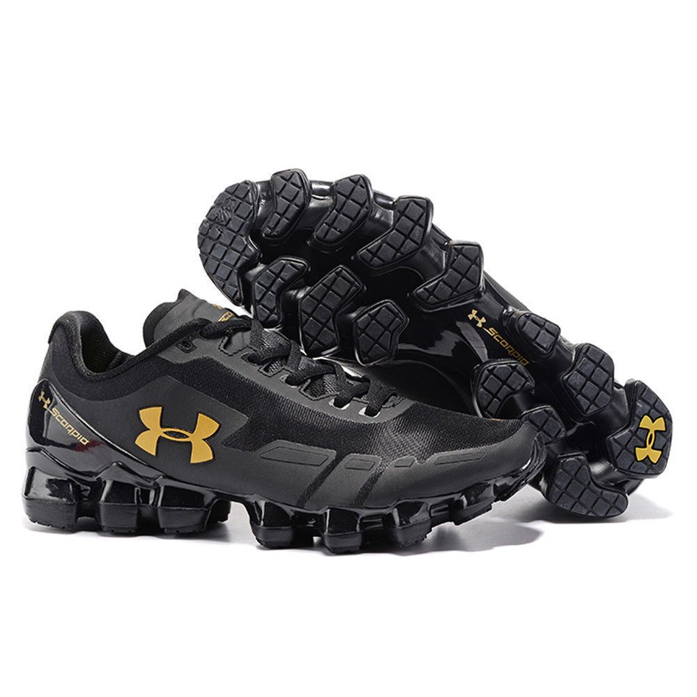 online store 8e084 8b994 2018 Men s Under Armour Mens UA Scorpio Running Shoes Gold+Black Leisure  Shoes   Clothing, Shoes   Accessories, Men s Shoes, Athletic Shoes   eBay!