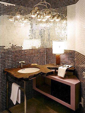 Bathroom Mirror Out Of Mirror Tile D 233 Coration Int 233 Rieure Salle De Bain Maison