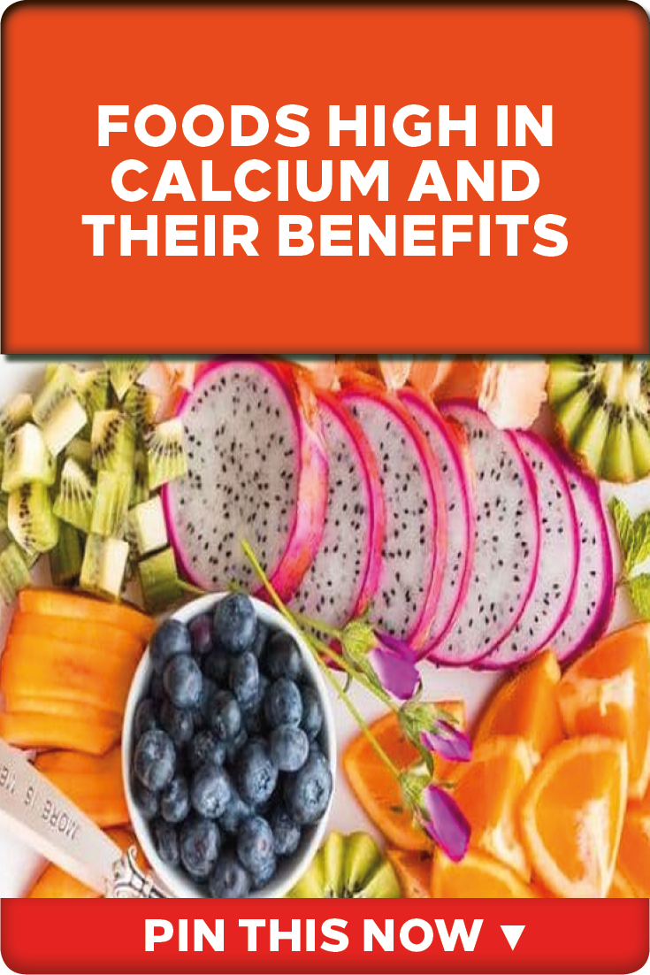 Top 10 Foods High in Calcium & Their Benefits Foods with