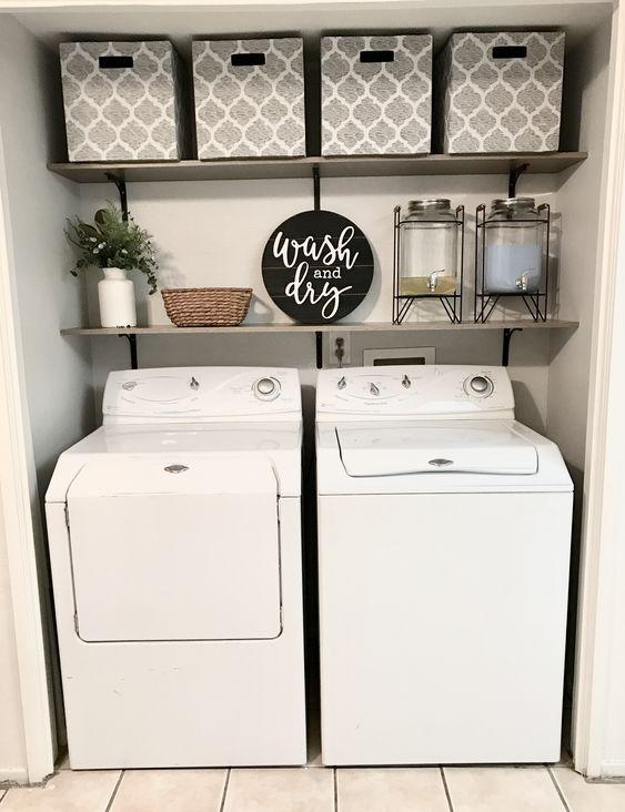 15 cuartos de lavado para una casa estilo Pinterest #casa