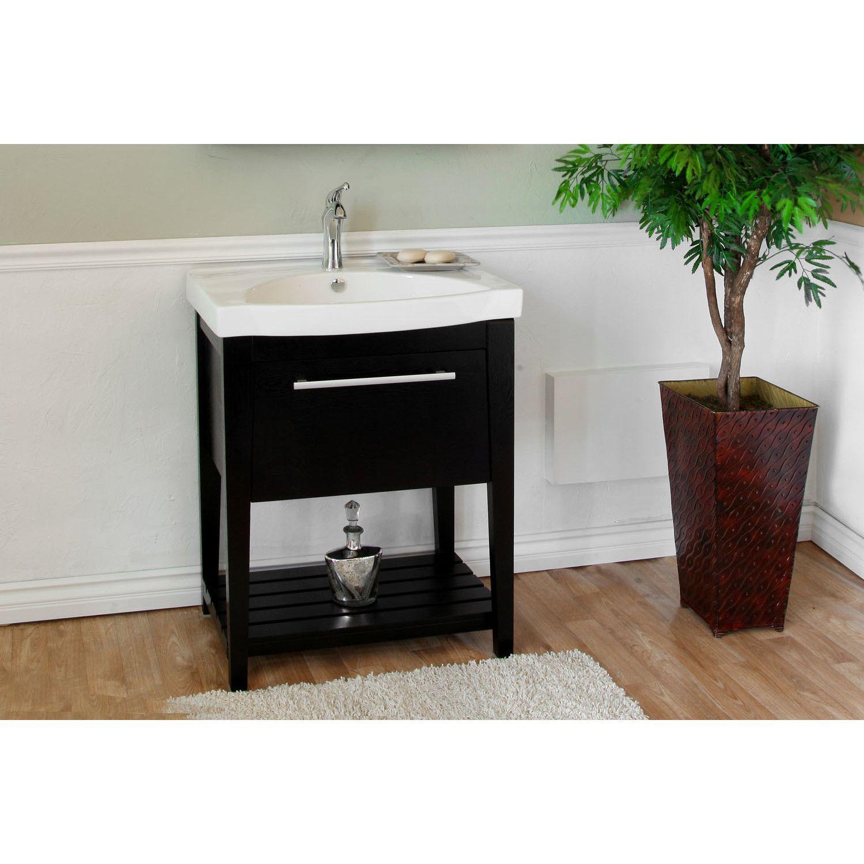 Farnsworth 28 Single Bathroom Vanity Set Contemporary Bathroom Vanity Single Bathroom Vanity Bellaterra Home