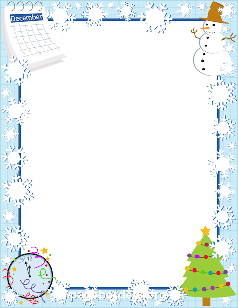Free Microsoft Word Border Templates Printable December Borderuse The Border In Microsoft Word Or Other .