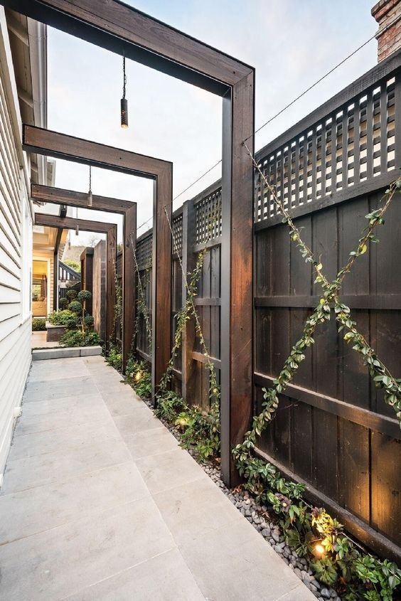 Kit 1 - Green Wall Garden Trellis System in 2020 | Pergola ... on Green Wall Patio id=64203