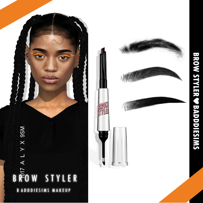 Photo of BADDDIESIMS – BADDDIESIMS GLOW KIT BROW STYLER & BOUNCE BLUSH […