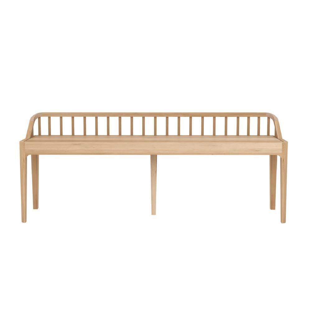 Pleasing Ethnicraft Spindle Bench In 2019 Seating Bench Hallway Creativecarmelina Interior Chair Design Creativecarmelinacom