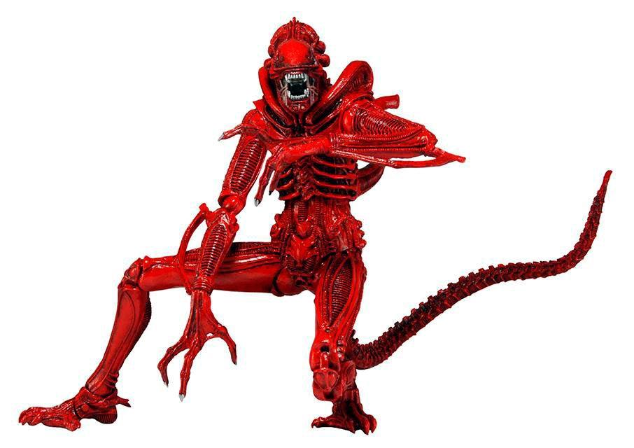 Figura Alien Genocide Rojo, 18cm. Alien Serie 5 NECA Figura de 18cm perteneciente a la película Alien, El Octavo Pasajero, basado en la serie 5 con el terrorífico Alien Genocide Rojo.
