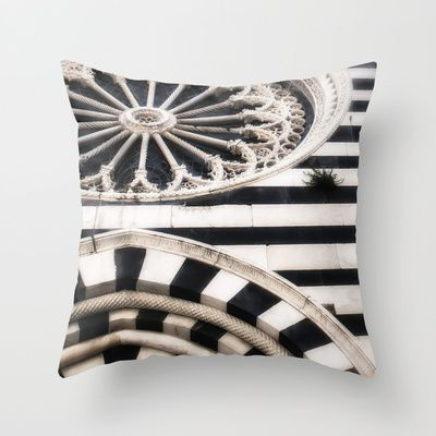 Striped Marble Architecture Throw Pillow By Elliott S Location Photography Decorative Throw Pillow Covers Throw Pillows Pillows