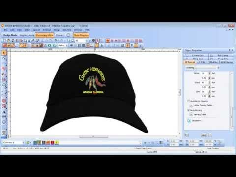 How to convert vector graphics to embroidery with Wilcom DecoStudio