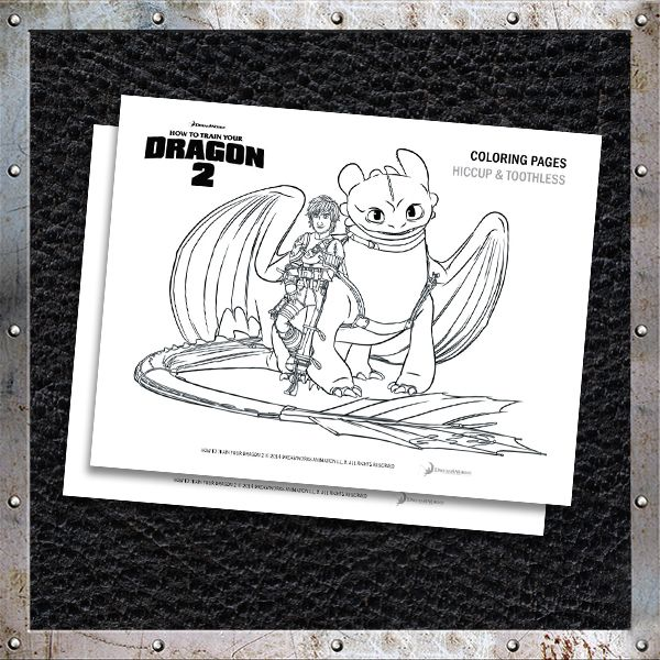 How to Train Your Dragon 2 Coloring Pages and Activities HTTYD2