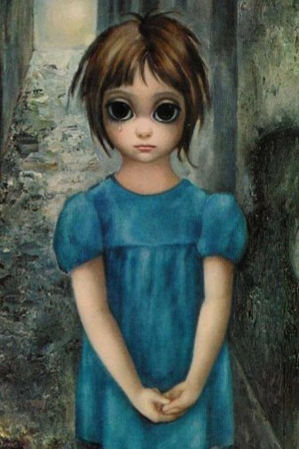Image result for big eyes painting