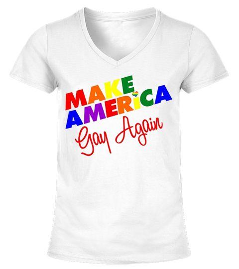 9de7fa12 Make America Gay Again T-shirt. LGBT, Gay Rights, Equality. LGBT pride  rainbow flag shirts, LGBT support shirt, LGBT pride shirts, Gay pride shirt.