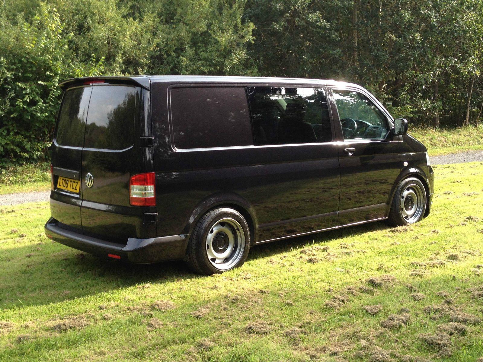 vw transporter t5 6 seat kombi van ebay bus vans. Black Bedroom Furniture Sets. Home Design Ideas