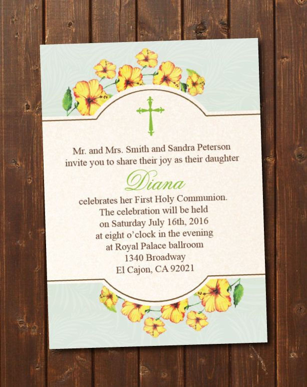 printable first holy communion invitation e card first communion