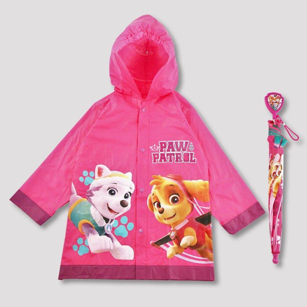Nickelodeon Paw Patrol Girls Raincoat Jacket