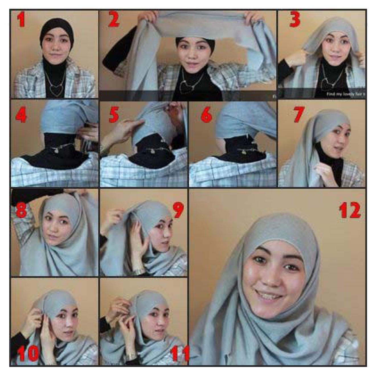 17 Best Images About Hijab On Pinterest Style How To Wear And