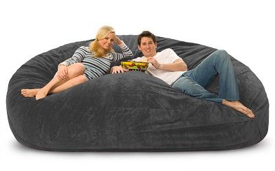 This Is So Awesome 8 Foot Lovesac Big One Foam Bag Bean Bag
