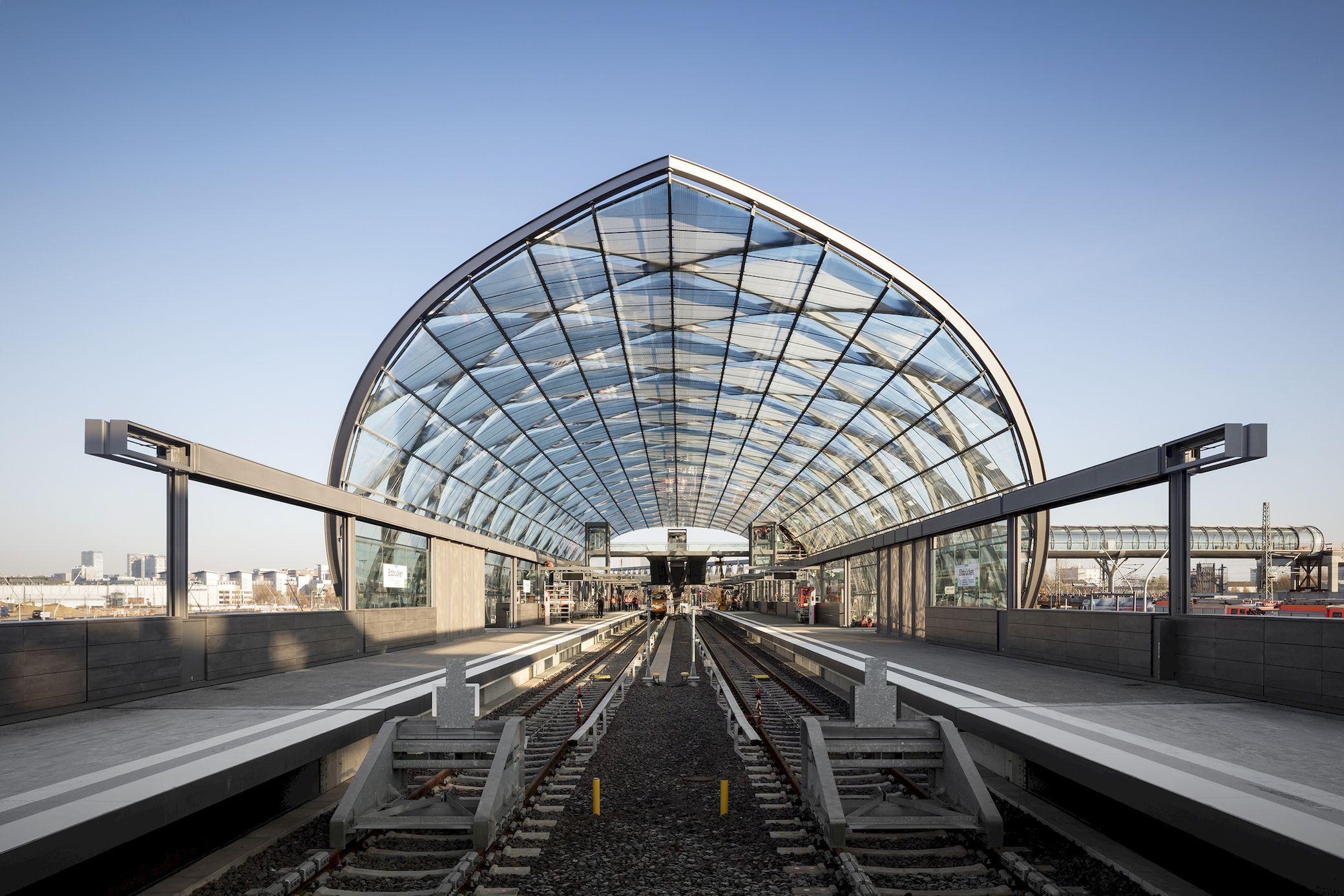 Elbbrucken Underground Station Gmp Arch2o Com In 2020 Architecture Photography Office Building Architecture Underground