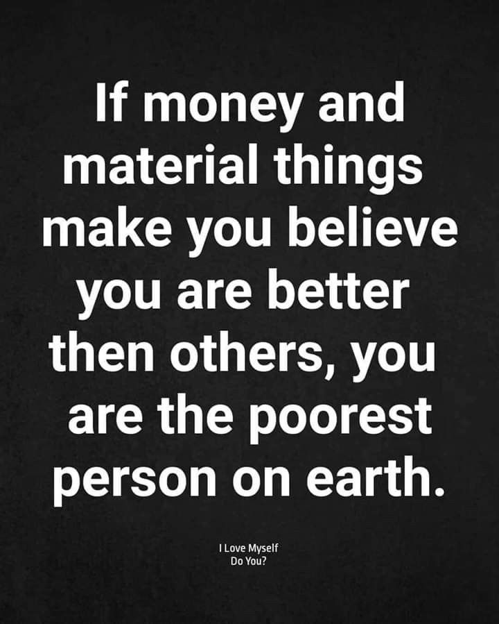 Words 2 Live By Materialistic Quotes