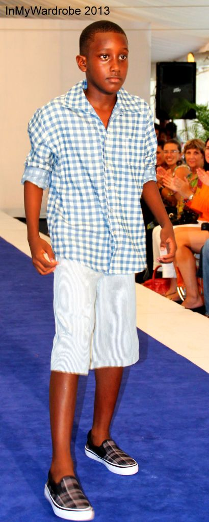 Caribbean Fashion Week, 2013 - Barbados:  I love this outfit from Giordan William's Kids collection.