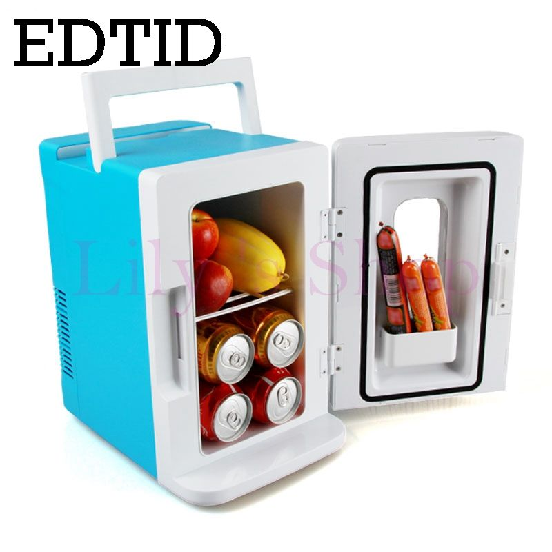 Edtid Mini Refrigerateur De Voiture Portable Auto Menage
