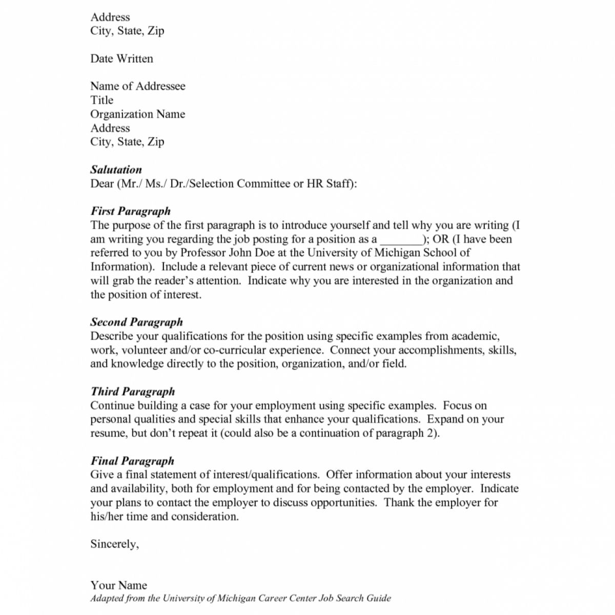 26 Who Do You Address A Cover Letter To Resume Cover Letter