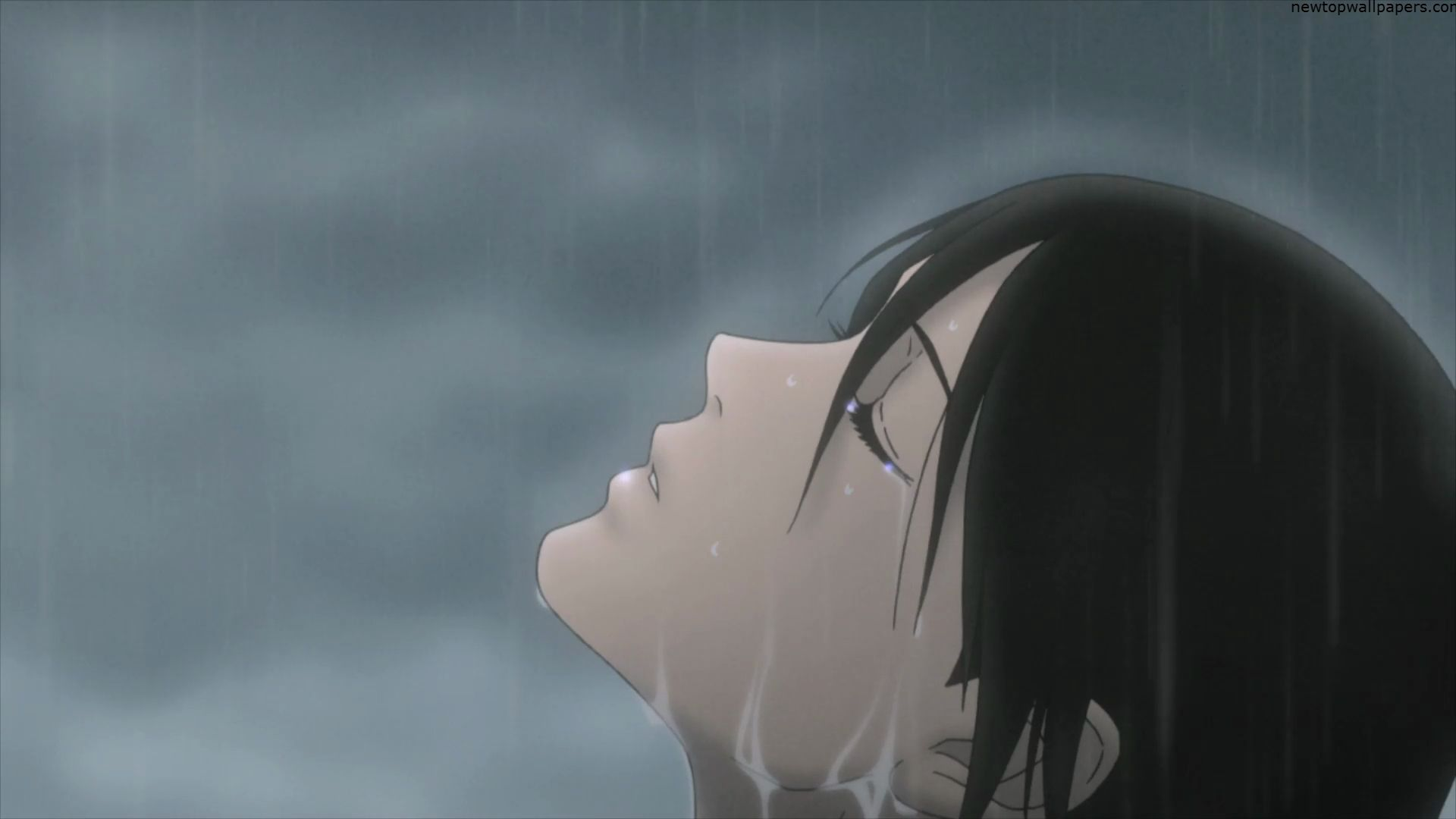 Anime Boy Alone  Alone Anime Girl In Rain Free Download -2744