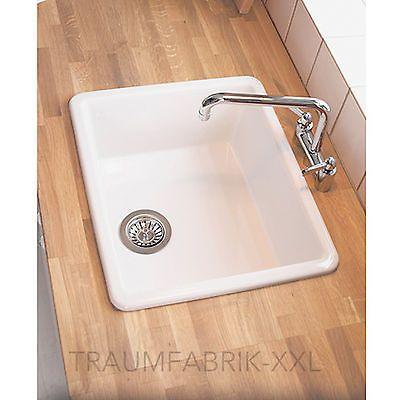 Küchenspüle Waschbecken Einbauspüle Spüle + Zubehör ...