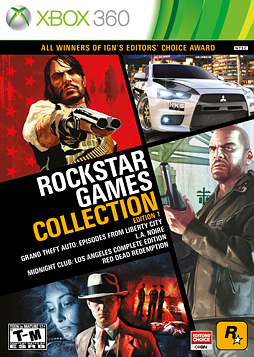 Rockstar Games Collection Xbox360 Rockstar Games Latest Video Games Video Game Collection