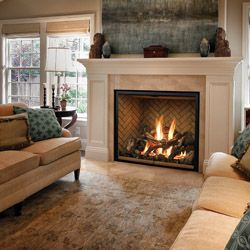 Mendota full view and the lennox montebello the best for Montebello fireplace