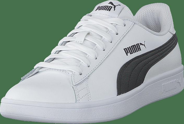 1e1bc35ace6 Köp Puma Puma Smash V2 L Puma White-puma Black vita Skor Online | FOOTWAY