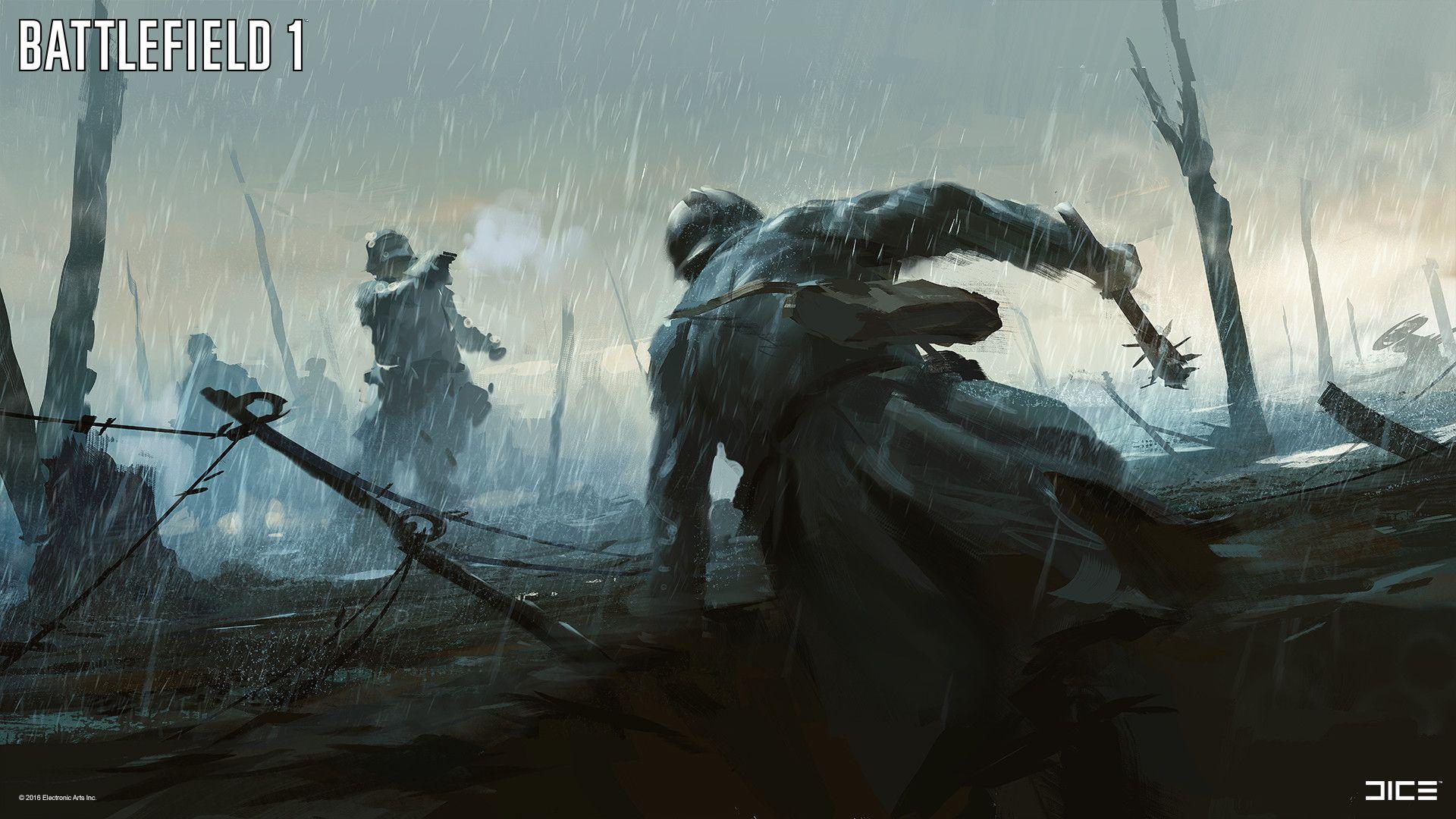 The Art Of Battlefield 1 | WW1 | Battlefield 1, Concept art