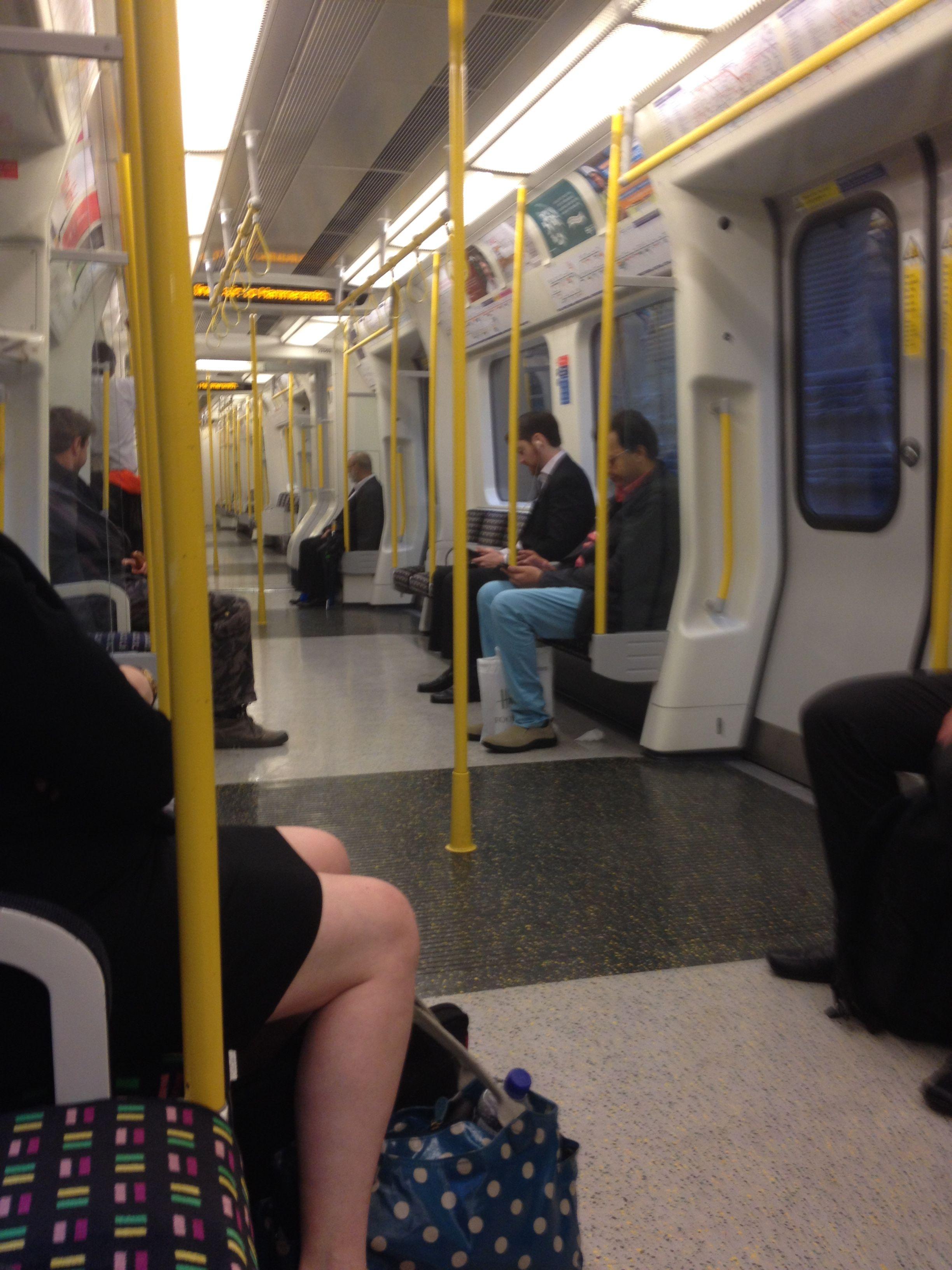 london tube train Liverpool street london underground