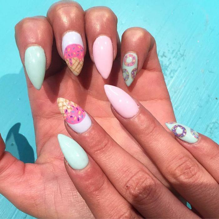 1001 + ideas de uñas en gel decoradas según las últimas ...