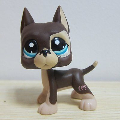 Hasbro Littlest Pet Shop Collection Lps Figure Rare Brown Great